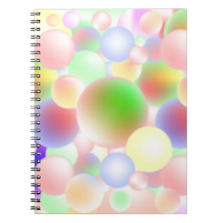 Brightly Coloured Notebook. Notebook