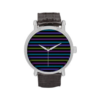 Brightly Striped Watch