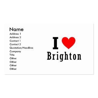 Brighton, Alabama City Design Double-Sided Standard Business Cards (Pack Of 100)