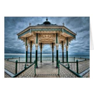 Brighton Bandstand, England Card