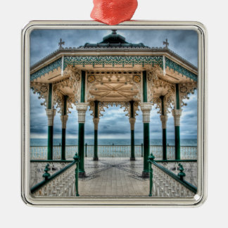 Brighton Bandstand, England Metal Ornament