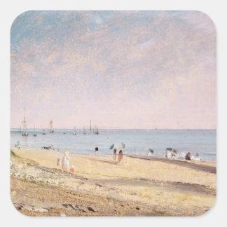 Brighton Beach oil on canvas Stickers