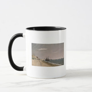 Brighton Beach with colliers, 1824 Mug