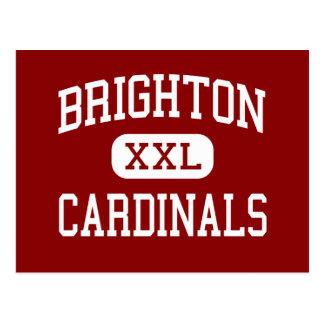 Brighton - Cardinals - High - Brighton Tennessee Postcards