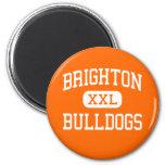 Brighton - dogos - alta - Brighton Michigan Iman De Frigorífico