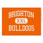 Brighton - dogos - alta - Brighton Michigan Tarjeta