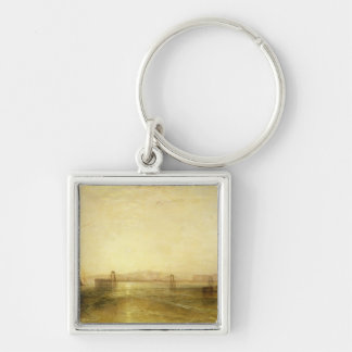 Brighton from the Sea, c.1829 Keychain