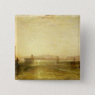 Brighton from the Sea, c.1829 Pinback Button