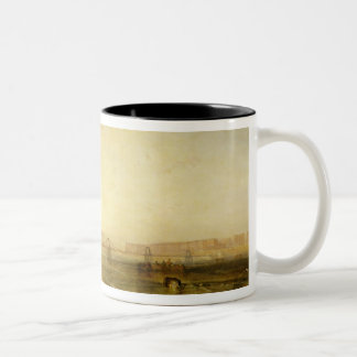 Brighton from the Sea, c.1829 Two-Tone Coffee Mug