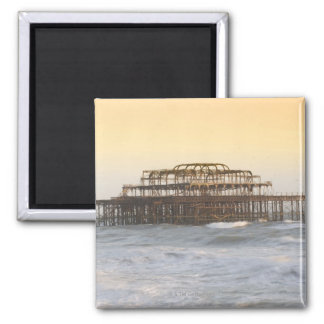 Brighton, Inglaterra 3 Imán Cuadrado