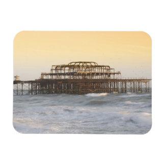 Brighton, Inglaterra 3 Imanes De Vinilo