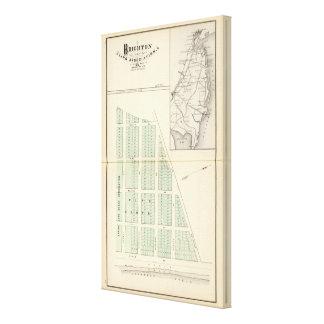Brighton Land Association, adjoining Spring Lake Canvas Print