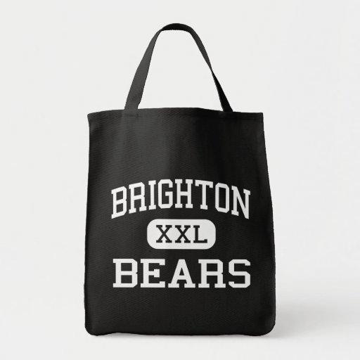 Brighton - osos - centro - Bessemer Alabama Bolsa Lienzo