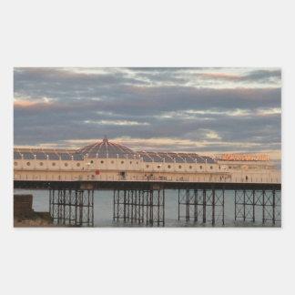 Brighton Palace Pier Rectangular Sticker