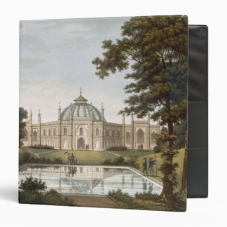 Brighton Pavilion: Proposed view of the garden wit Binder