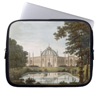Brighton Pavilion: Proposed view of the garden wit Laptop Computer Sleeve
