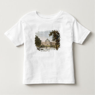 Brighton Pavilion: Proposed view of the garden wit T-shirt
