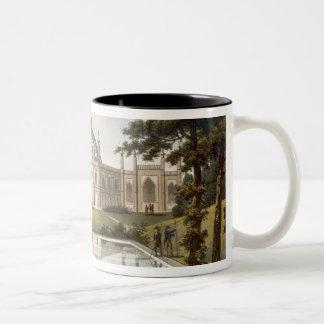 Brighton Pavilion: Proposed view of the garden wit Two-Tone Coffee Mug