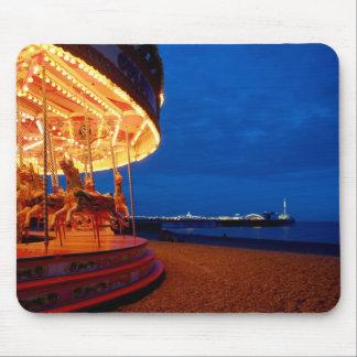 Brighton Pier - Fun! Mousepad