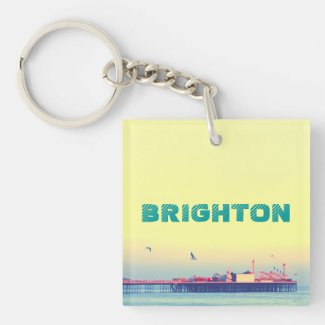 Brighton pier, UK Acrylic Key Chains