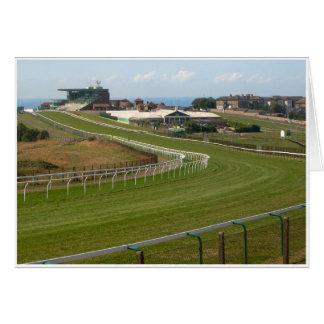 Brighton Racecourse Greeting Card