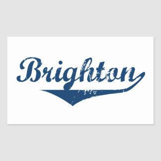 Brighton Rectangular Sticker