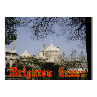 Brighton Royal Pavilion Poster