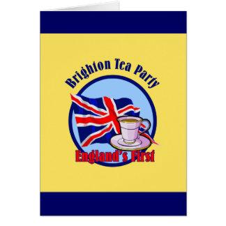 Brighton Tea Party Card