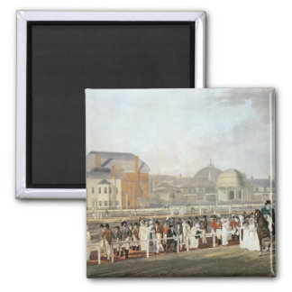 Brighton: The Old Pavilion and Steyne 2 Inch Square Magnet
