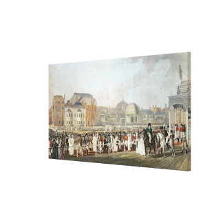 Brighton: The Old Pavilion and Steyne Canvas Print