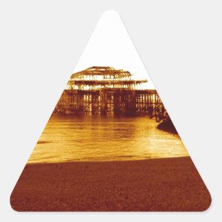 brighton west pier (07) triangle sticker