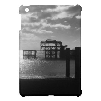 Brighton West Pier black & white iPad Mini Case