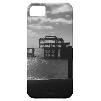 Brighton West Pier black & white iPhone SE/5/5s Case