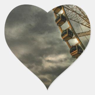 Brighton Wheel I Heart Sticker