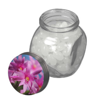 Brights Joyful Summer Jelly Belly Jar Glass Jars