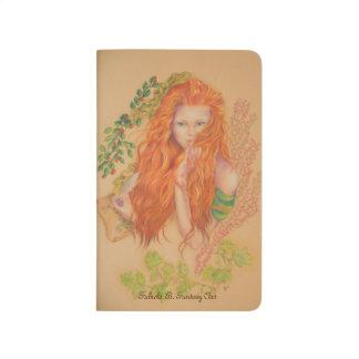 Brigit Celtic Goddess Plain notebook