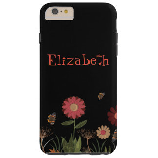 Brigt colored painted summer meadow tough iPhone 6 plus case