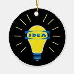 Brigth Idea Parody logo Christmas Ornaments