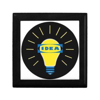Brigth Idea Parody logo Gift Box