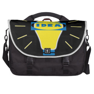 Brigth Idea Parody logo Laptop Commuter Bag