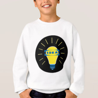 Brigth Idea Parody logo Sweatshirt