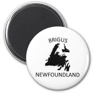 Brigus, Newfoundland 2 Inch Round Magnet