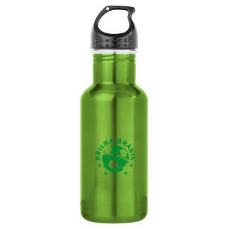 Brilha Brasil - Brazilian Soccer 18oz Water Bottle