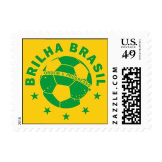 Brilha Brasil - Brazilian Soccer Postage