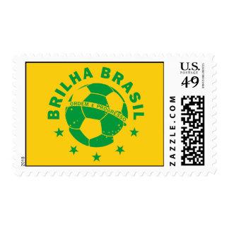 Brilha Brasil - Brazilian Soccer Postage Stamps