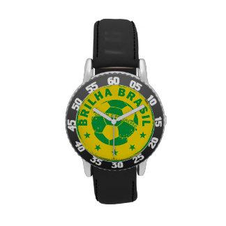 Brilha el Brasil - fútbol brasileño Reloj