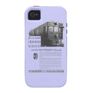 Brill Company 1926 M-1 Gas Electric Car Vibe iPhone 4 Cases
