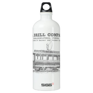Brill Company Streetcars and Tramway Cars 1860 SIGG Traveler 1.0L Water Bottle