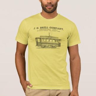 Brill Company Streetcars and Tramway Cars 1860 T-Shirt