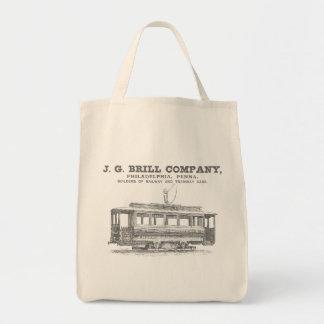 Brill Company Streetcars and Tramway Cars 1860 Tote Bag